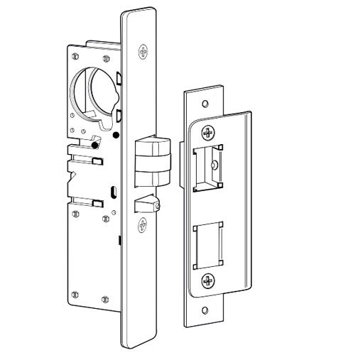 4531-25-102-628 Adams Rite Standard Deadlatch