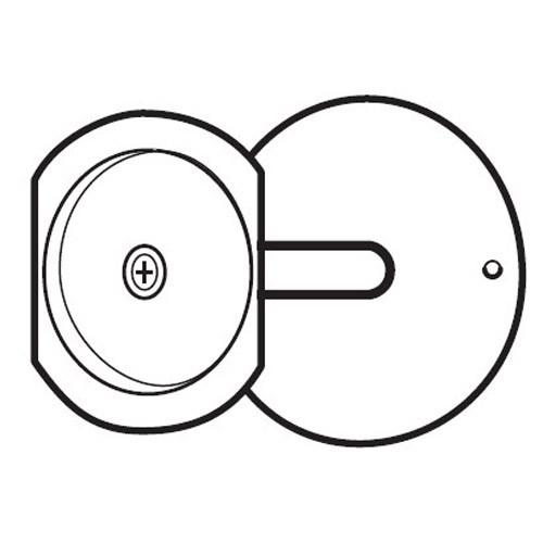 PDF-161-CP Don Jo Hole Filler Plate