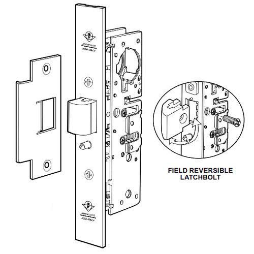 4920AN-46-000-335 Adams Rite Heavy Duty Deadlatch