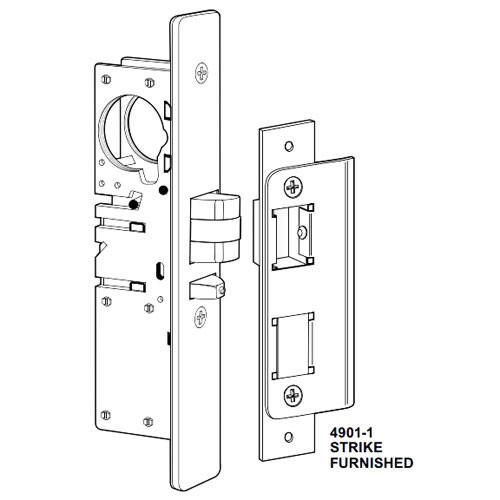 4532-25-102-313 Adams Rite Standard Deadlatch