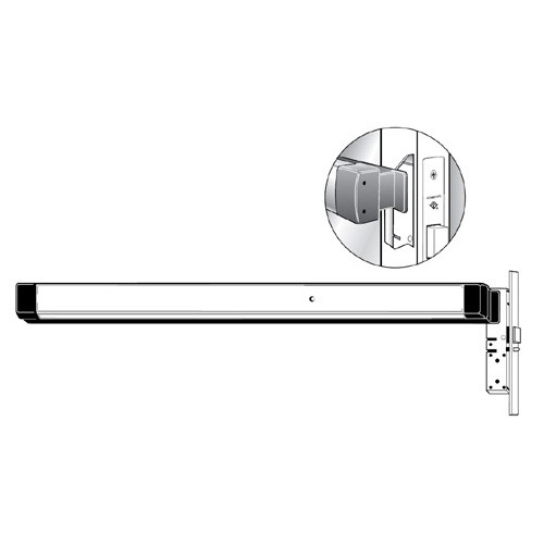 8424-M-372-36-313 Adams Rite Narrow Stile Mortise Exit Device