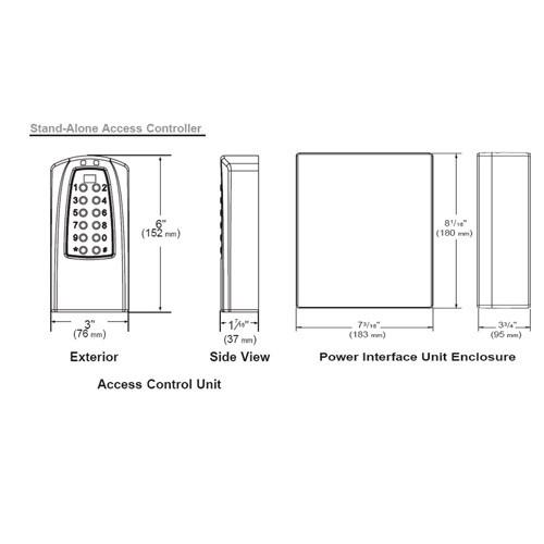 Eplex Stand-Alone Access Controller