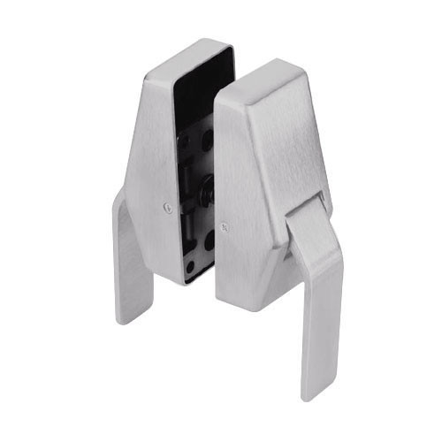 HL6-3-626-L Glynn Johnson HL6 Series Standard Function Push and Pull latch with Lead Lining in Satin Chrome Finish
