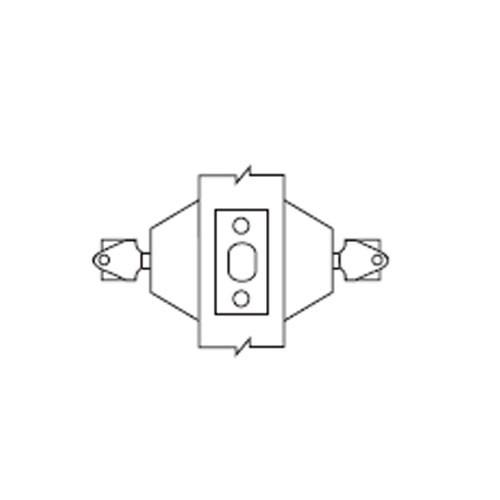 D62-03 Arrow Lock D Series Deadbolt Double Cylinder in Bright Brass