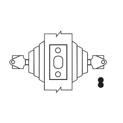 E62-10-IC Arrow Lock E Series Deadbolt in Satin Bronze Finish