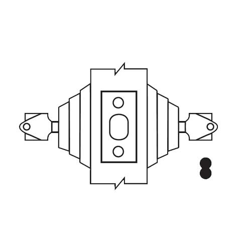 E62-10B-IC Arrow Lock E Series Deadbolt in Dark Oxidized Satin Bronze Finish
