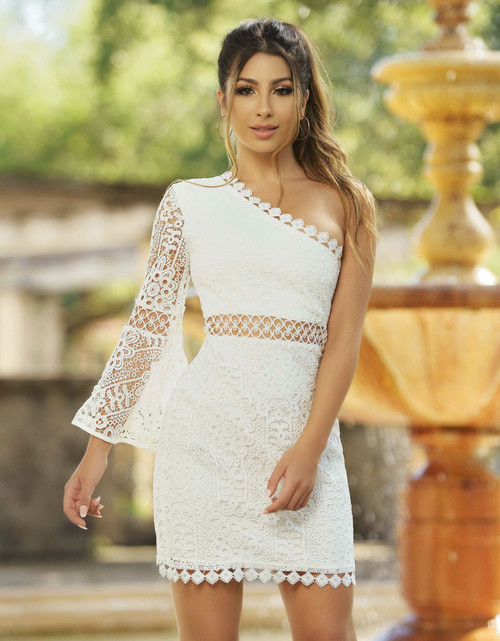 The Elysian Dress - White