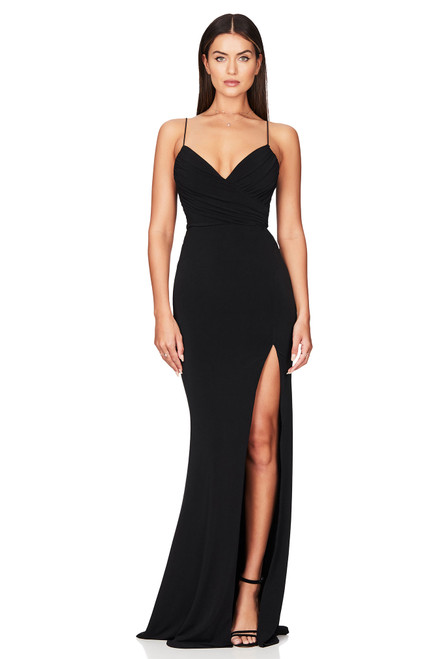 Venus Gown Black by Nookie from Lady Black Tie