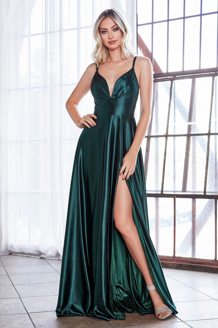 Cosette Gown Emerald Green