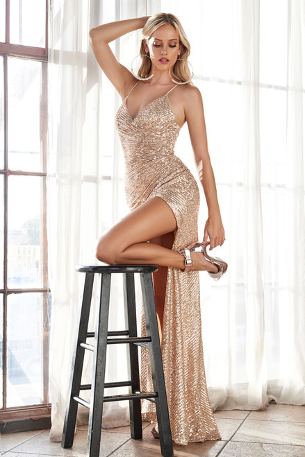Eclipse Gown Gold