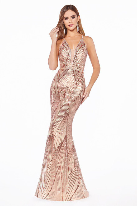 The Bombshell Gown Rose Gold