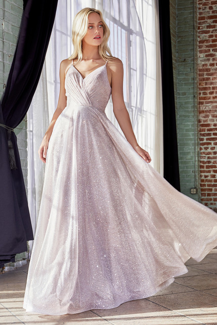 Joline Gown in Sparkling Champagne