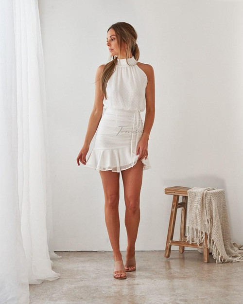 The Pip Dress White by Two Sisters The Label from Lady Black Tie