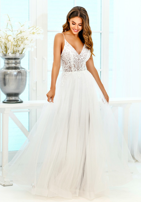 Viv Gown - White