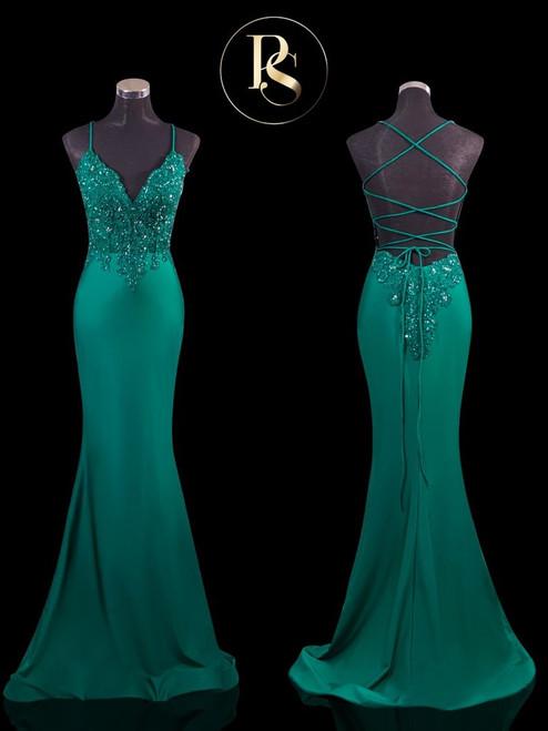 PS21116 - Emerald - by Portia & Scarlett Lady Black Tie