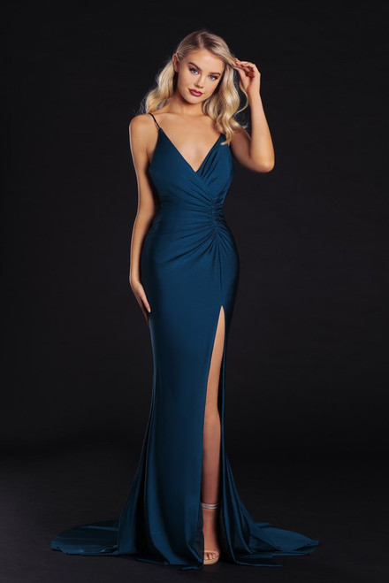 PS6322- Teal- by Portia & Scarlett Lady Black Tie