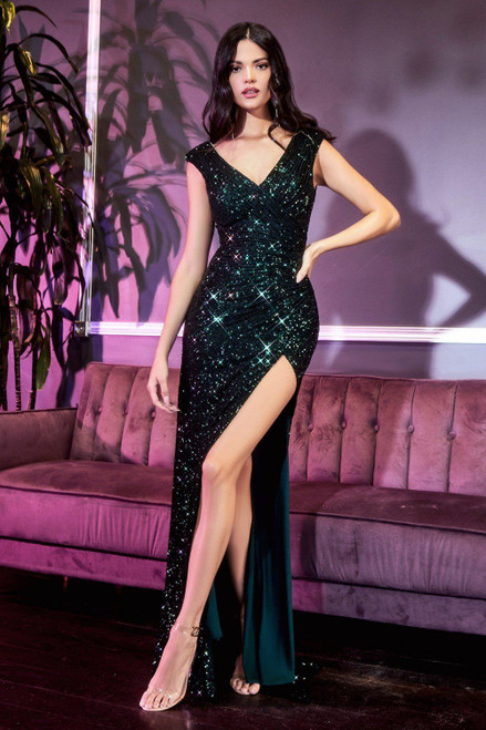 moscow gown emerald green from lady black tie