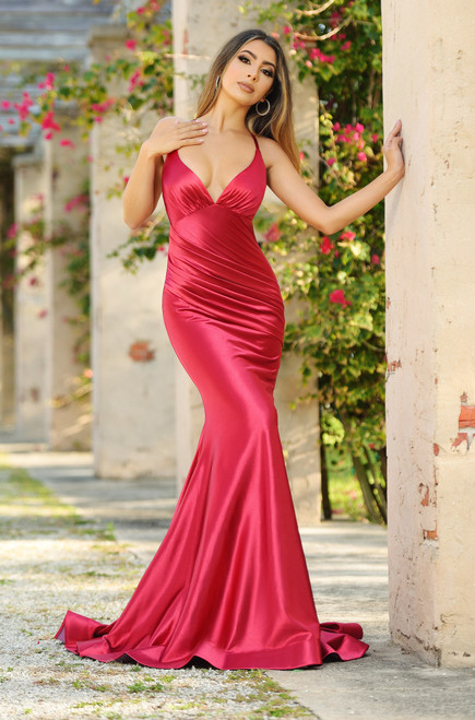 Odette Gown Red - Lady Black Tie