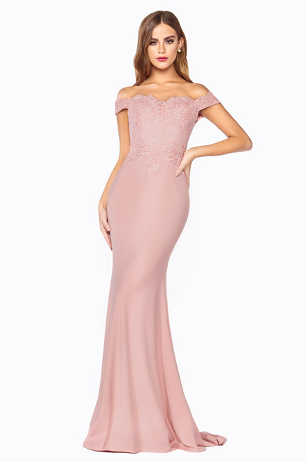 Helena Gown Fitted, Dusty rose