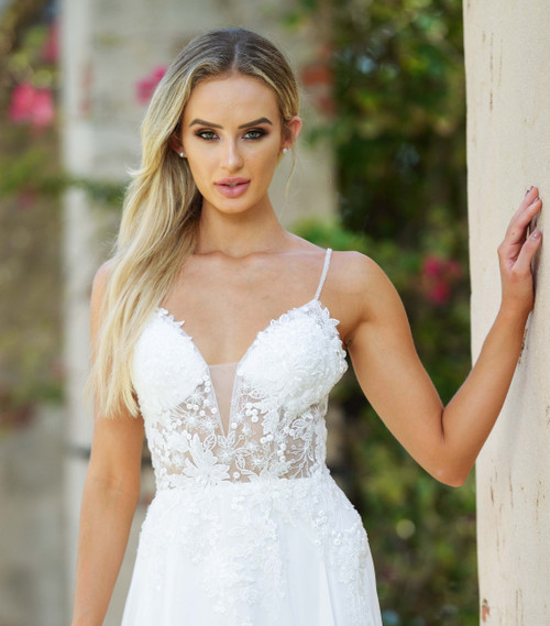avianna gown white from lady black tie
