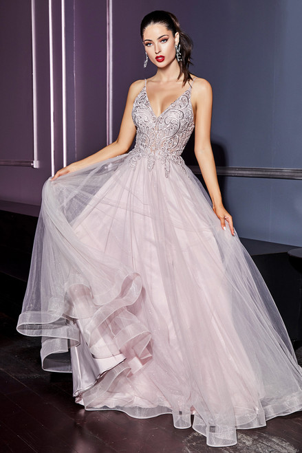 VIV Gown - MAUVE - Lady Black Tie