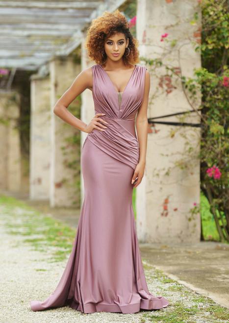 Noelle Gown Deep Mauve