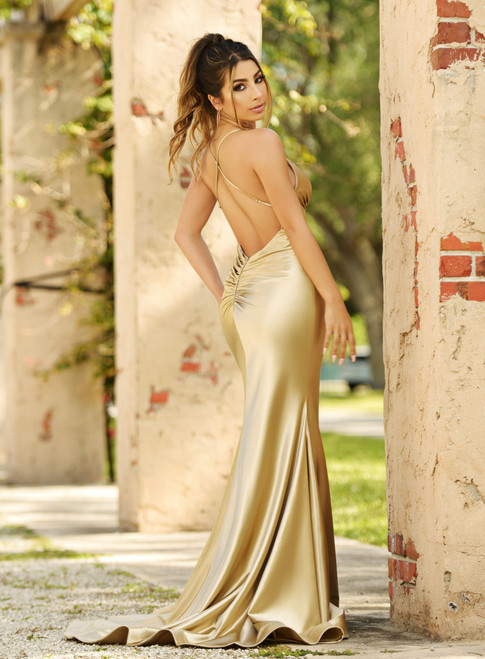 Odette Gown - GOLD