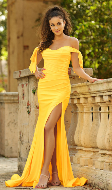Amber Gown - Yellow
