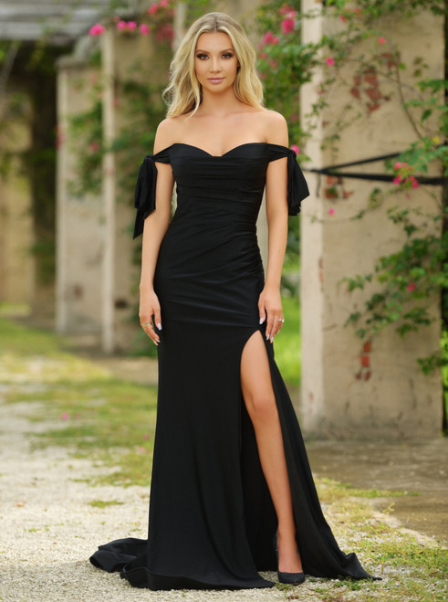 Amber Gown - Black
