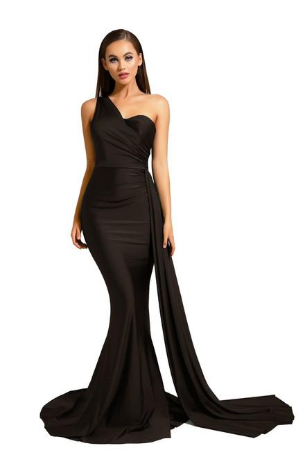 ps6321 Black lady black tie