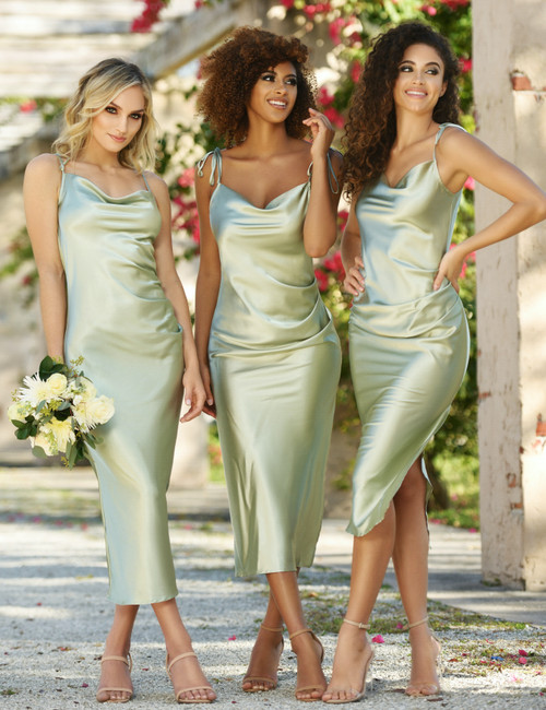 Lorena Midi Dress - Sage