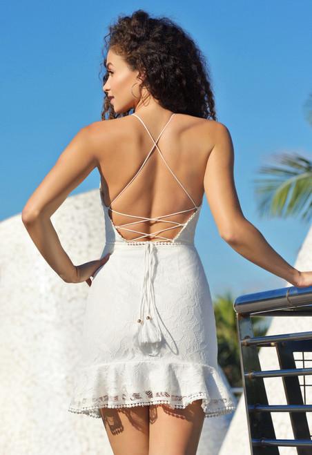 Sadie Mini Dress - White