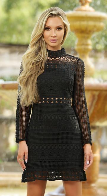 Riverdale Dress - Black Lady Black Tie