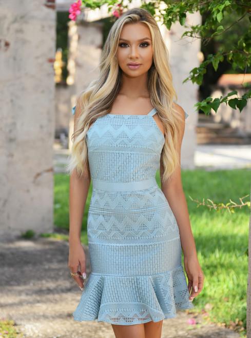 Shona Dress - Sage -