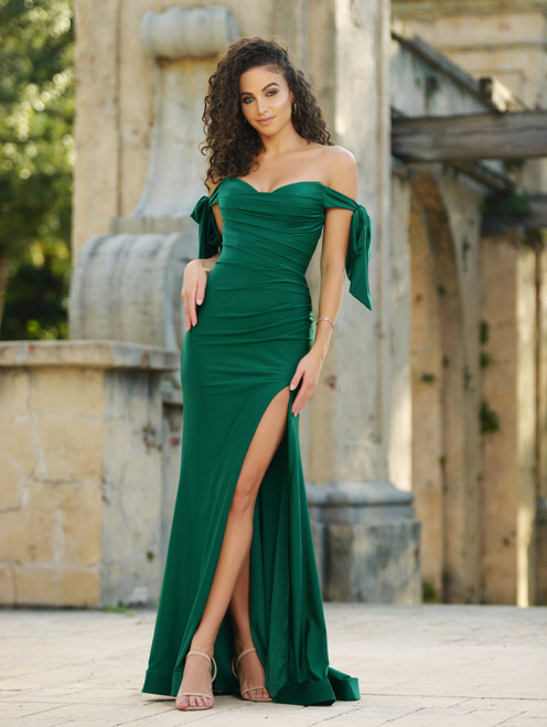Amber Gown - Emerald