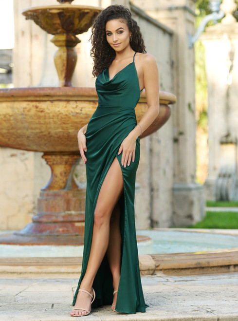 Tiana Gown - Emerald