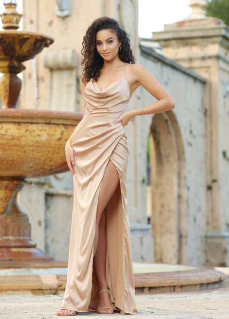 Tiana Gown - Nude