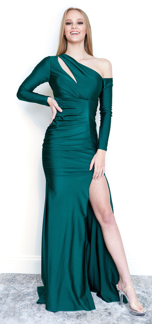 The Beyonce Dress,  Atria Couture in green