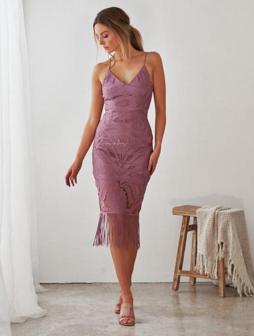Khaleesi Dress - DUSTY PURPLE