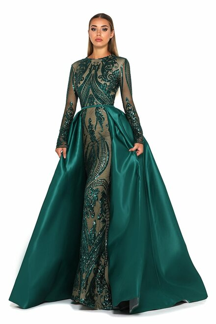 Style 1705 in Emerald  by Portia & Scarlett from Lady Black Tie