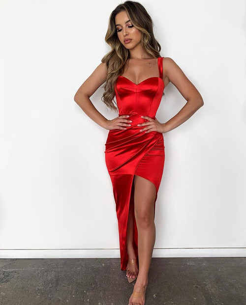 The Slay Gown in RED by Nookie