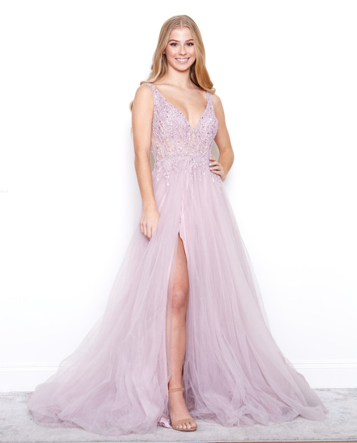 Style A0391 in Mauve/Tea-Rose by Andrea & Leo