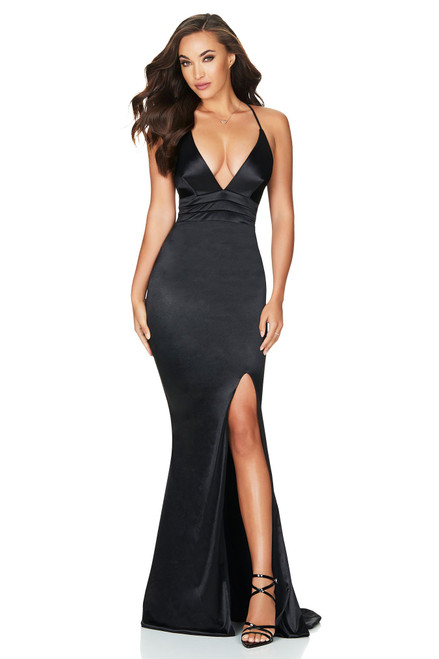 Starstruck Gown, BLACK by Nookie