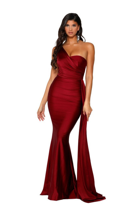 Style PS6321 Deep Red by Portia and Scarlett from Lady Black Tie