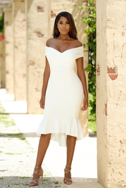 The Brienne Dress -  White