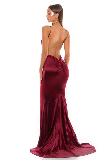 Style 1943 Deep Red by Portia and Scarlett from Lady Black Tie
