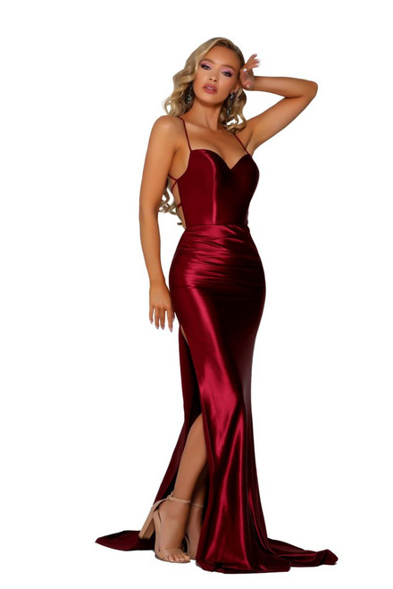 Style PS6306 Deep Red by Portia & Scarlett from Lady Black Tie