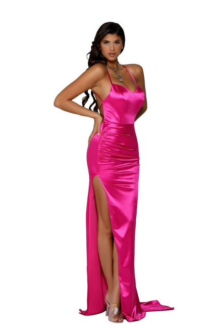 Style PS6306 Hot Pink by Portia & Scarlett from Lady Black Tie