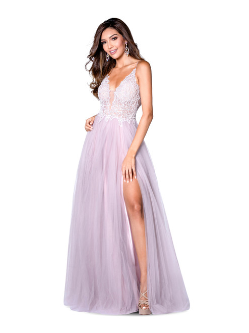 Style 7848 Heather Blush by Vienna Prom from Lady Black Tie