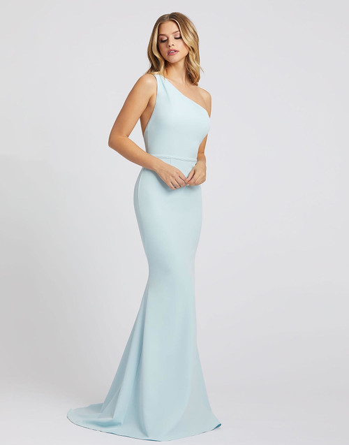 Style 26266 Powder Blue by Mac Duggal from Lady Black Tie